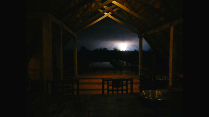 Lightning from The Lodge