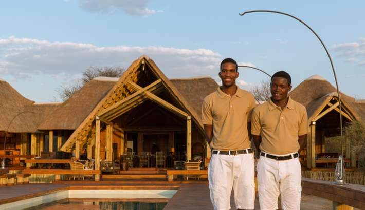 A warm welcome to The Lodge
