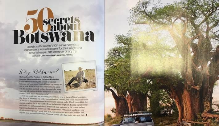 50 secrets about Botswana