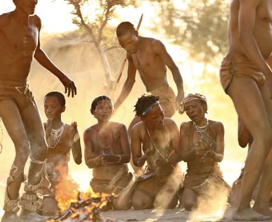 Bushmen trance dance