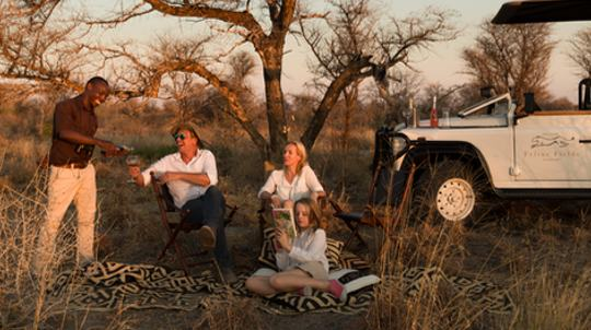 Family safari, Kalahari