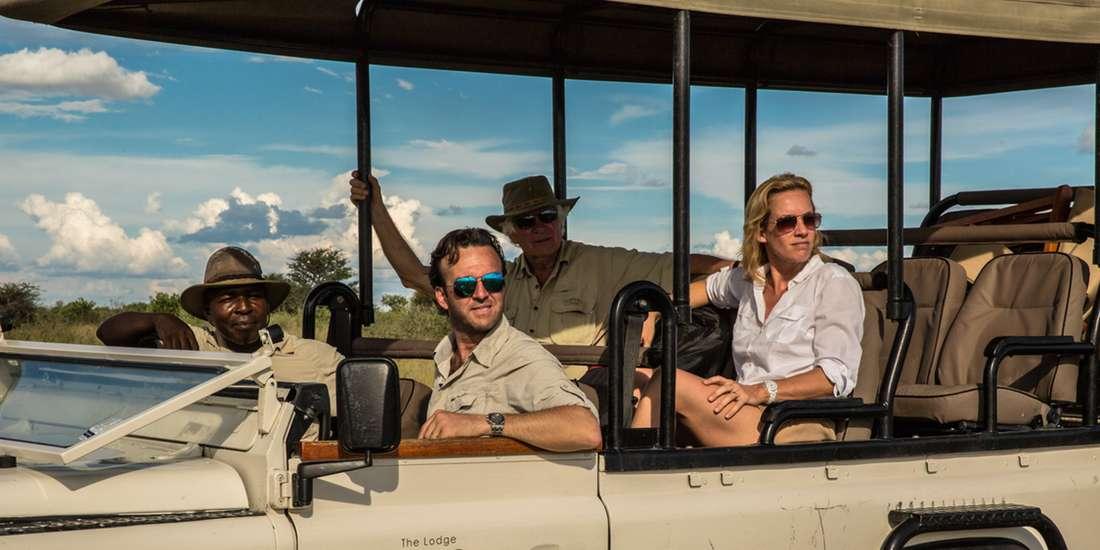 Exploring the Kalahari Desert