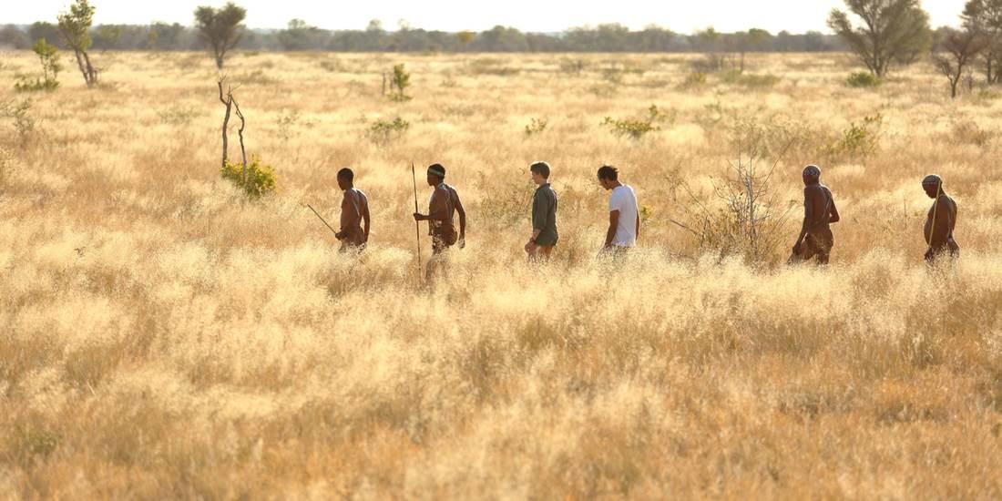 Walking safaris with the Kalahari Bushmen