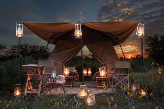 Khwai mobile camp tent