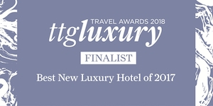 ttgluxury Travel Awards finalist logo