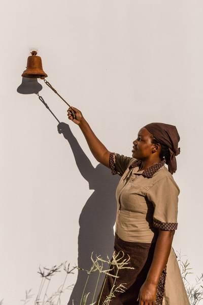 Housekeeping ringing bell