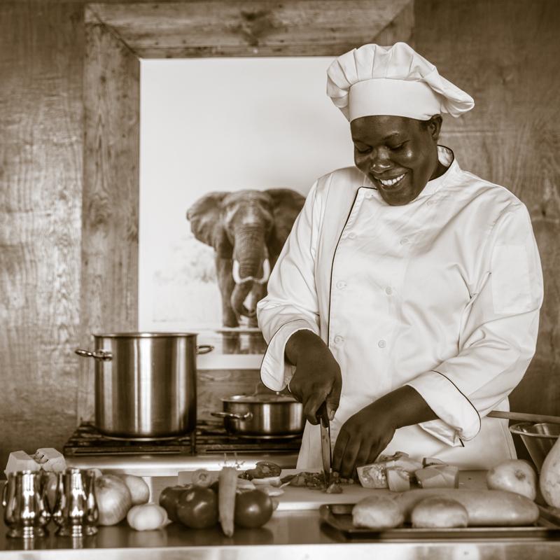 Chef Feline Fields Pauline